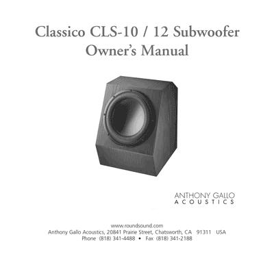 Classico CLS10/12